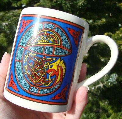 Past Times Illuminated Celtic Initial Mug - Letter E - Very Good Used Condition • 8.99£