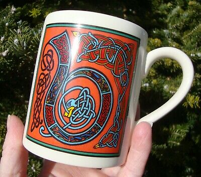 Past Times Illuminated Celtic Initial Mug - Letter B - Very Good Used Condition • 8.99£