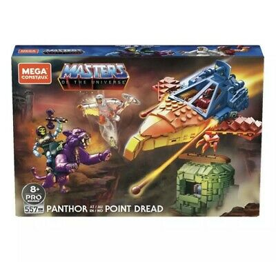 $48 • Buy Mega Construx Masters Of The Universe Panthor At Point Dread He-Man Brand New!!