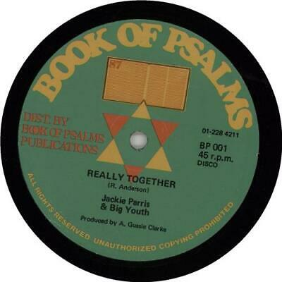 Big Youth Really Together UK 12  Vinyl Single Record (Maxi) BP001 • 12.95£