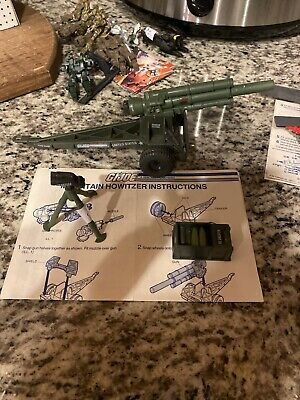 $ CDN39.09 • Buy Vintage GI Joe Mountain Howitzer 1984 Near Complete Nice