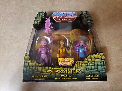 $50 • Buy Star Sisters MOTUC Masters Of The Universe Classics Complete With Mailer Box