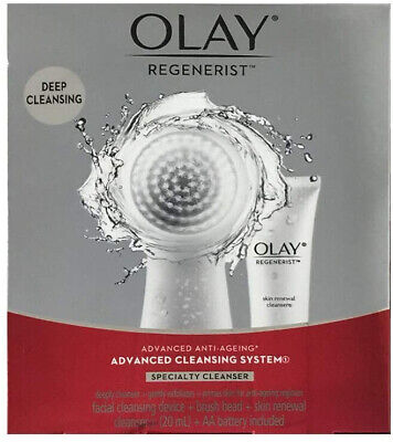 AU42.99 • Buy  Olay Regenerist Advanced Anti-Ageing Advanced Cleansing System(Device + Brush +