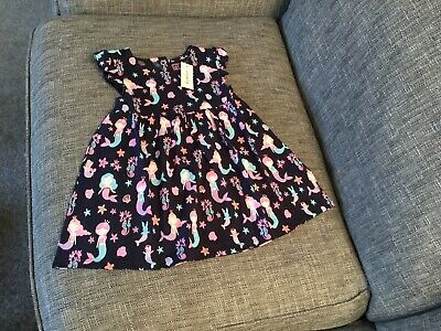 BNWT Debenhams Blue Zoo Girl's Mermaid Dress Age 12-18 Months • 8.50£