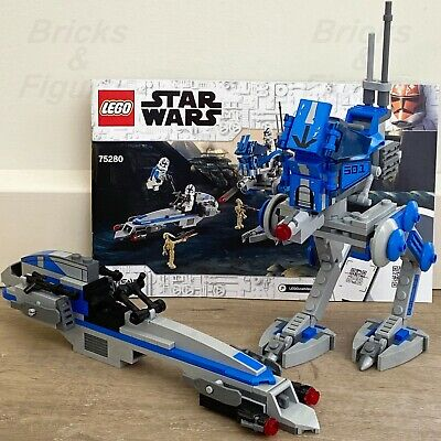 AU29.99 • Buy Star Wars LEGO® 501st Legion AT-RT & BARC Speeder Clone Wars 75280 NO MINIFIGS