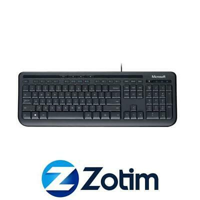 AU33.90 • Buy Microsoft ANB-00025, Wired Keyboard 600 - QWERTY, USB, Spill Resistant