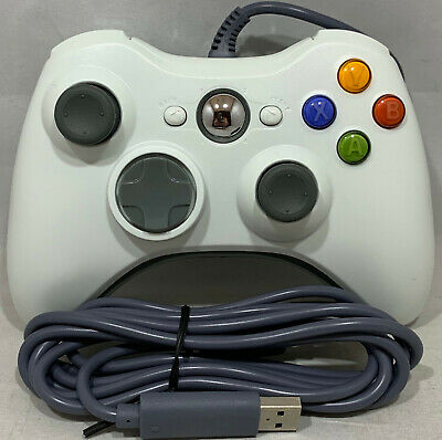 AU24.95 • Buy Controller Gamepad For The Xbox 360 Brand New Wired White