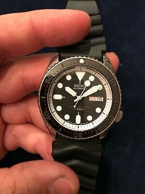 $ CDN326.86 • Buy SKX007 Seiko Automatic Divers Watch With Mod Ceramic Bezel Insert