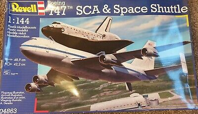 Revell 1/144 Boeing 747 SCA & Space Shuttle Model Kit • 30£