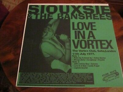 Siouxsie And The Banshees Live LP • 14.50£