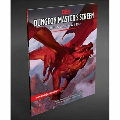 AU46 • Buy Dungeons & Dragons - 5th Edition - Dungeon Masters Screen - Reincarnated