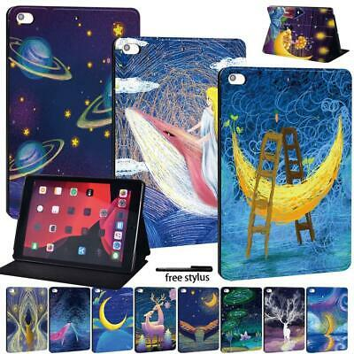 Smart Hard Shell Case Cover For Apple IPad 8 10.2  2020 8th Gen Tablet + Pen • 7.99£