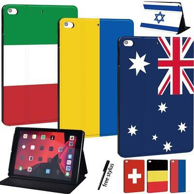 Smart Leather Stand Case Cover For Apple IPad 8 10.2  2020 8th Gen Tablet + Pen • 7.99£