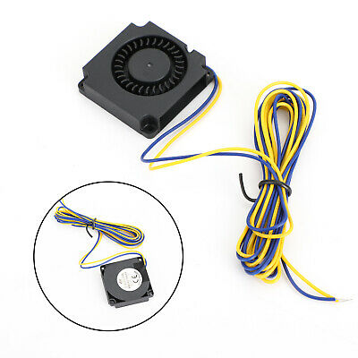 3D Printer Hotend Radial Turbo Blower Fan DC 12V Accessory For Creality CR-10 AY • 3.99£