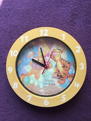 £9.90 • Buy Winnie The - Pooh & Friends Wall Clock For Kids Room