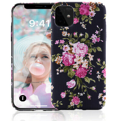 AU15.19 • Buy  New IPhone 11 Case For Girls Slim Fit Full-Around Protective Floral Shell Cover