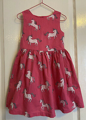 Blue Zoo Pink Unicorn Party Dress Occasion Age 4-5 • 2.49£