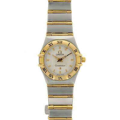 Ladies Omega Constellation 95 18ct Yellow Gold & Steel 12623000 • 1,499£