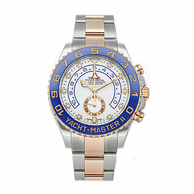 $ CDN29338.37 • Buy Rolex Yacht-Master II Auto 44mm Steel Everose Gold Mens Bracelet Watch 116681