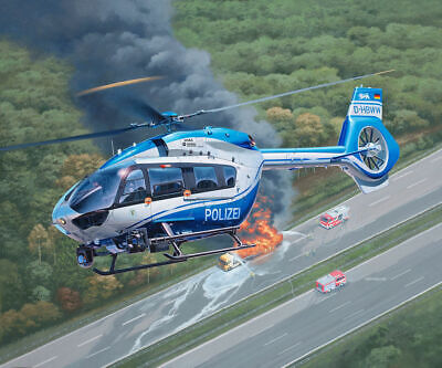 Revell 1/32 Airbus H145 Police Surveillance Helicopter • 41.27£
