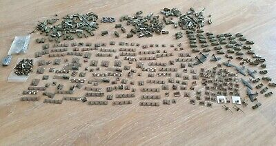 6mm Wargames Army German & British Infantry Artillery, Vehicle & Aircrafts. • 50£