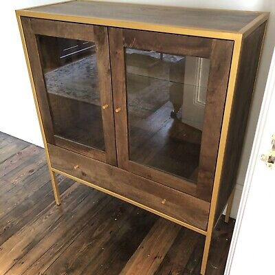 Swoon Wood, Metal & Glass Display Cabinet Edition No. 03 Of 10 • 21£