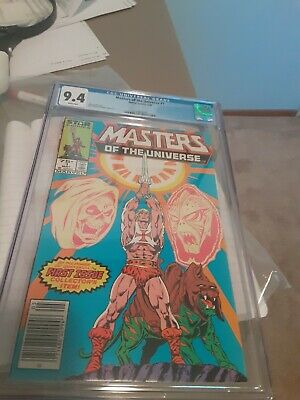 $91 • Buy Masters Of The Universe #1 (1986) Marvel Comics (Star Comics) He-Man CGC Graded