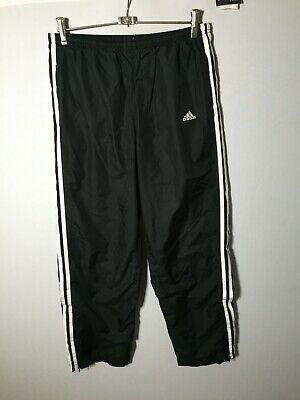 AU19.99 • Buy Adidas Men's Black With White Detail Track Pants Size M