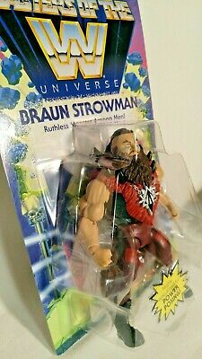 $14 • Buy 💥 Wrestling Masters Of The WWE Universe 🌎 BRAUN STROWMAN Action Figure ⚡️