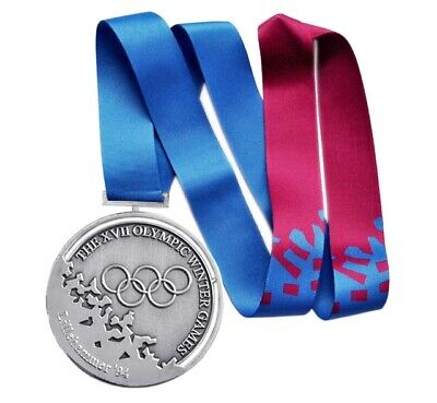 £39.83 • Buy Silver Medal Of The XVII Winter Olympic Games In Lillehammer 1994