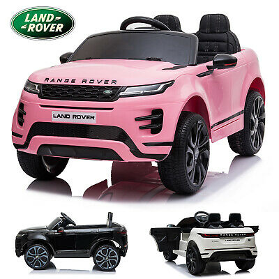 Licensed 12v Ride On Range Rover Evoque Kids Electric 2.4g Remote Control Car • 179.99£