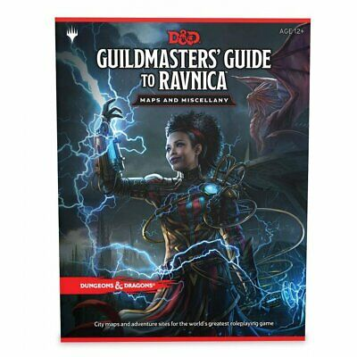AU54 • Buy Dungeons & Dragons - 5th Edition - Guildmasters Guide To Ravnica - Maps And Misc
