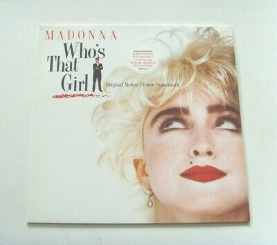 Madonna - Who's That Girl (Original Soundtrack) - 1987 SIRE (VG+/EX) • 5£