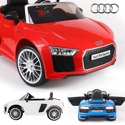 Licensed 12v Ride On Audi R8 Kids Battery Remote Control Car / Child Cars • 129.99£