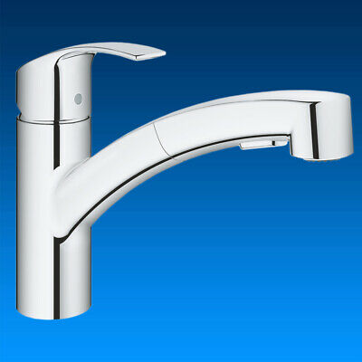 Grohe Kitchen Fitting Eurosmart Sink Tap Pull-Out Shower Water Tap • 102.42£