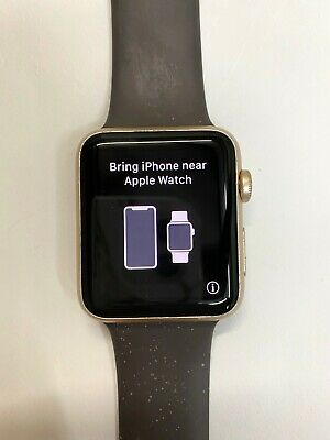 $ CDN134.04 • Buy Apple Watch Series 1 42mm Gold Aluminum Case With Wrist Band