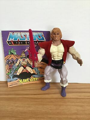 $8.50 • Buy 1984 He-man Masters Of The Universe Prince Adam Action Figure Complete Comic