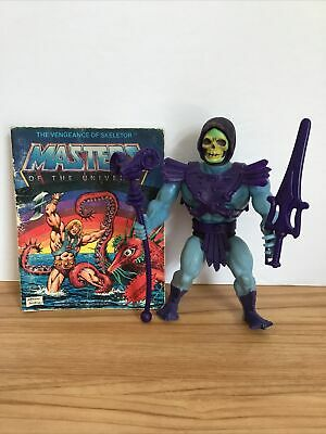 $26 • Buy 1981 He-man Masters Of The Universe Skeletor Action Figure Complete Comic