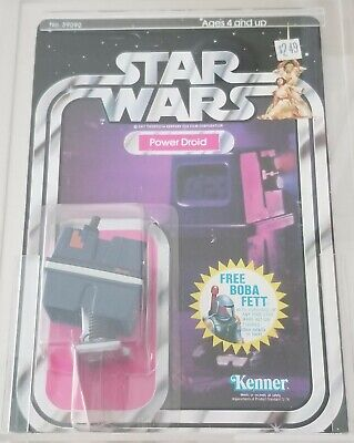 $ CDN1105.95 • Buy Star Wars Power Droid AFA 80 Vintage 20 BACK Unpunched