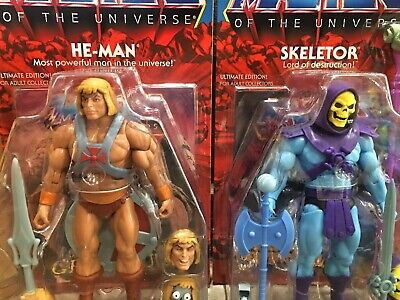 $200 • Buy He-Man/Skeletor - Masters Of The Universe Club Grayskull Ultimates SUPER7 COMBO