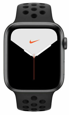 $ CDN547.87 • Buy Apple Watch Series 5 Nike 44mm Space Gray Aluminum Case With Anthracite/Black