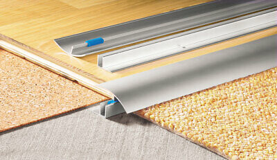 Door Bars Threshold Strip Transition Trim TILES To Laminate Carpet 50mm X 900mm • 6.99£