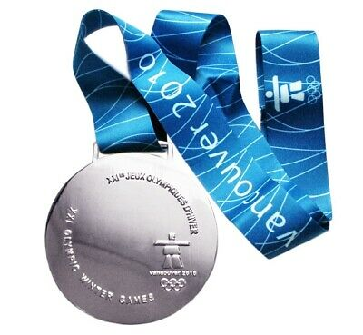 £39.83 • Buy Silver Medal At The XXI Winter Olympic Games In Vancouver 2010