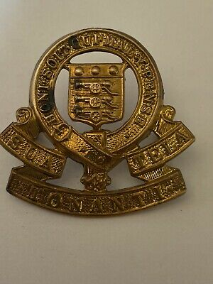 Genuine Collectable Ww2  Royal Army Ordnance Corps Tonanti Cap Badge • 3.50£