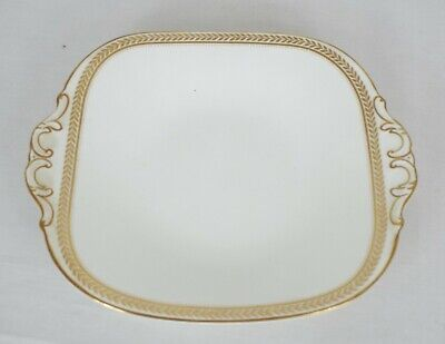 Coalport - Vintage Bone China - Gold Wheat Collection - Small Serving Plate • 10£