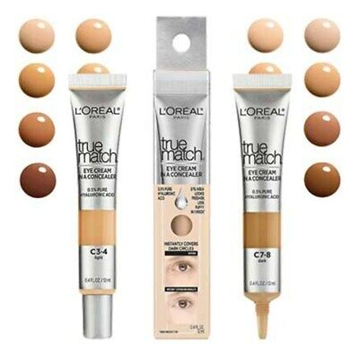 $9.95 • Buy Loreal True Match Eye Cream In A Concealer, You Choose
