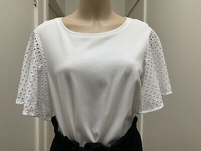 AU25 • Buy Country Road Flutter Sleeve Top Bnwt Small Rrp $79.95