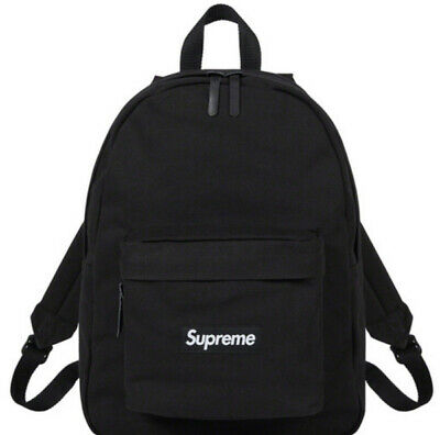 $ CDN360.65 • Buy Supreme Canvas Backpack Black Os/ Fw20 Week 5 (in Hand) Authentic/ Fast Shipping