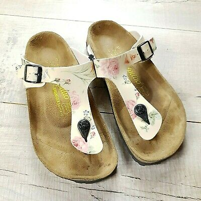 Womens Birkenstock Papillio Gizeh Sandals Size 37 Regular UK 4.5  #B22 • 35£