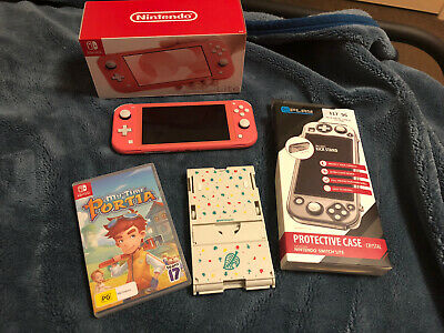 AU280 • Buy Nintendo Switch Lite (Coral) Near New + Game And Accessories